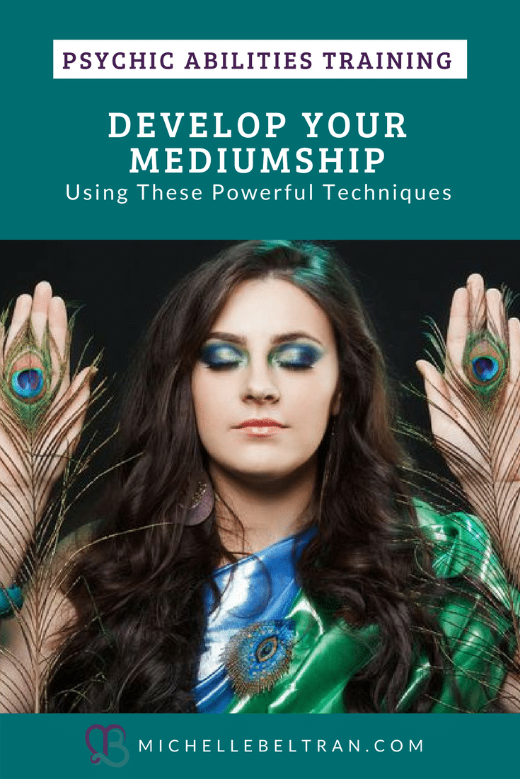 Psychic Medium Michelle teaches powerful mediumship techniques. Do you want to know how loved ones on the other side communicate with us? How to prepare for a medium reading? Click here to learn more.