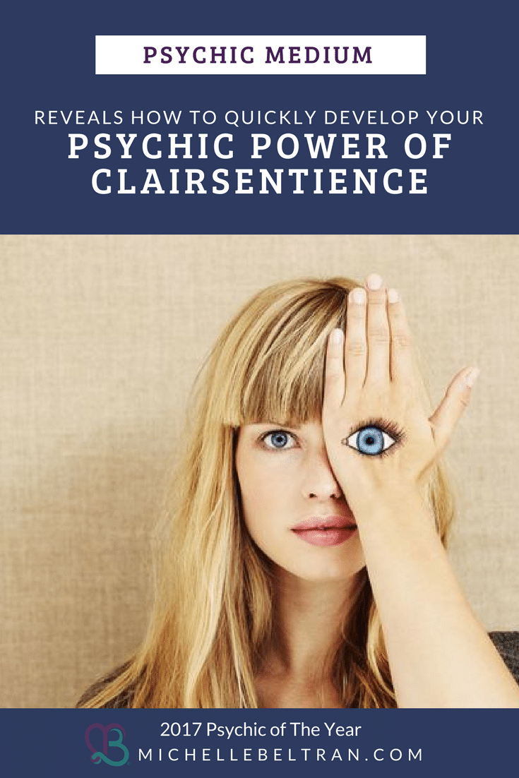 Psychic medium reveals that your clairsientience ability is rooted in your second chakra. This is the gateway to this amazing psychic power that you were born with.