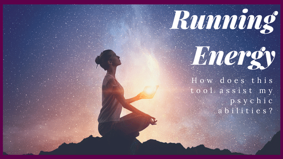 What is running energy for psychic development?