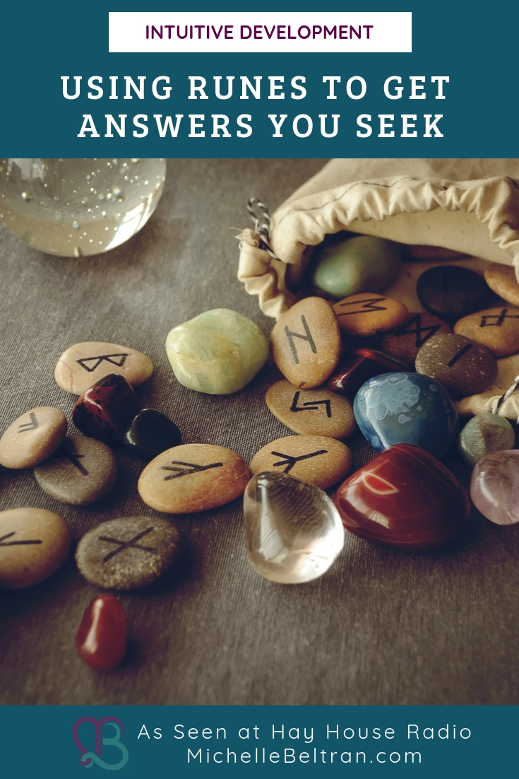Runes are an oracle-reading system or form of divination used to gain insights and advice. Join Psychic Medium Michelle to learn to simple steps to use Runes and receive the answers about your life that you desire.