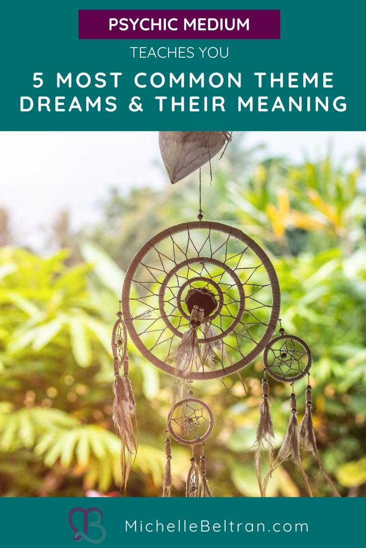 We\'re exploring 5 common dream themes: Flying Dreams, Being Chased Dreams, Teeth Falling Out Dreams, Infidelity/Relationship Dreams and Falling Dreams